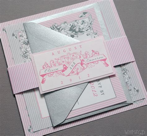 grey and pink wedding invitation cards 301 moved permanently