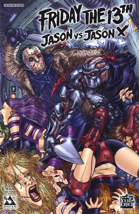 vs x martes 13 friday the 13th comics de jason comicsvortex