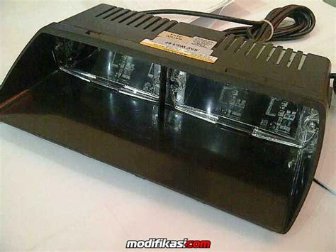 Premium Strobo Led Grill 16 Led Federal Signal Mode Bir T1310 dj auto jual berbagai macam kebutuhan lighting untuk mobil