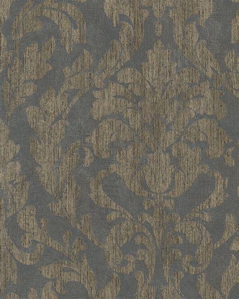 Tapete Grau Gold tapete ranken floral glanz grau gold marburg 58037