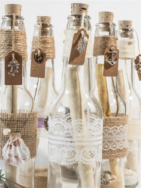 Message in a bottle invitations. Perfect for beach, pirate