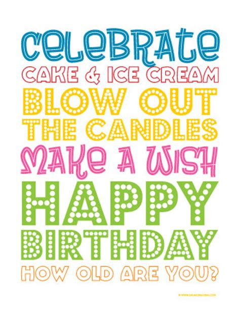 quot sweet surprises quot birthday printable card blue 37 birthday printables cakes and a giveaway yellow