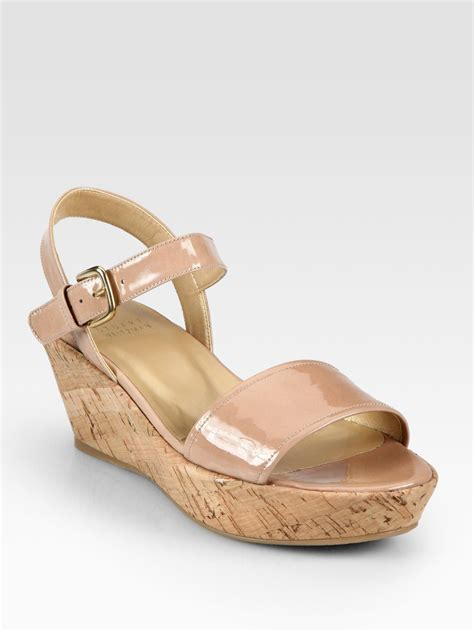 Faiths Calista Patent And Cork Wedges by Cork Sandals 28 Images Teva Ventura Cork 2 Rialto