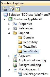 repository pattern unit test ios c development and tdd building a windows phone 7 app
