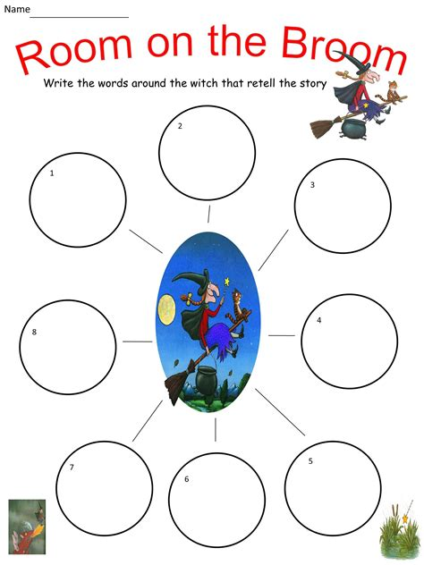 room on the broom free room on the broom lesson pack includes powerpoint of story 8 worksheets mash ie
