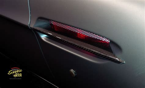 front fender side strakesblades exotic car gear