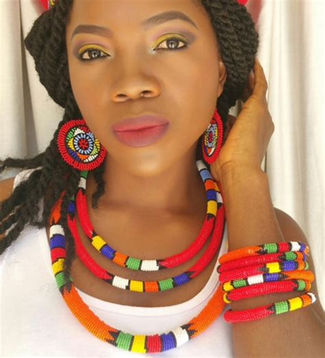 necklaces on traditional nigerian attires wedding traditional zulu beads south africa south africa