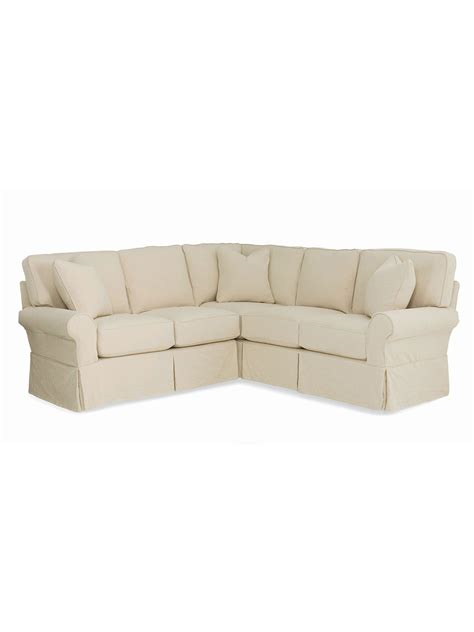 sectional corner annapolis loveseat corner sectional cottage home 174