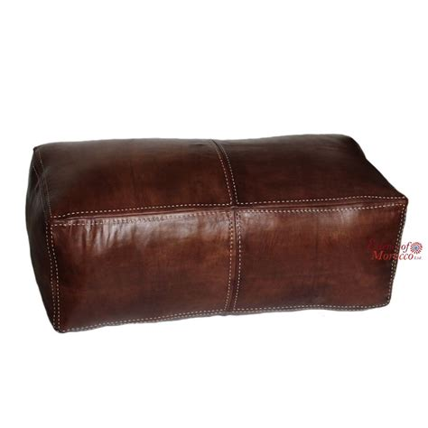 moroccan leather pouf ottoman 50 best moroccan leather poufs pouffes images on pinterest