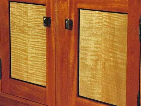 Maple Cabinet Door Curly Maple Cabinet Doors Detail Of Maple Doors On Tv Console Kitchen Ideas Pinterest