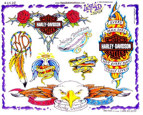 hd tattoo designs harley davidson tattoos