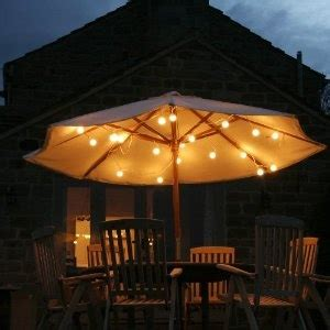 String Lights Under An Umbrella Lights Pinterest Umbrella Light String