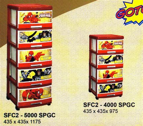 Napolly Lemari 2 Susun Batman lemari plastik container plastik lemari plastik hello