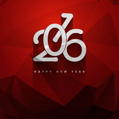 new year color for 2016 color new year 2016 greeting vector free