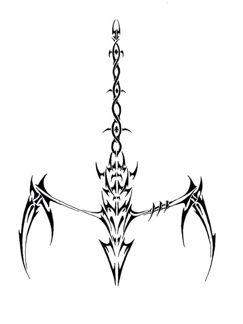 Scorpion Tribal Outline by Management You Can Make Armband Tattoos Lower Back Tattoos In Memory Tattoos