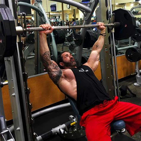 incline smith bench press chest workout for massive pecs body spartan