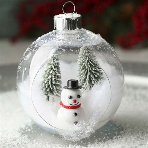 plastic open christmas ball ornament christmas ornaments