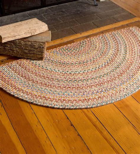 hearth rugs australia blue ridge half wool braided rug 2 x 4 braided rugs