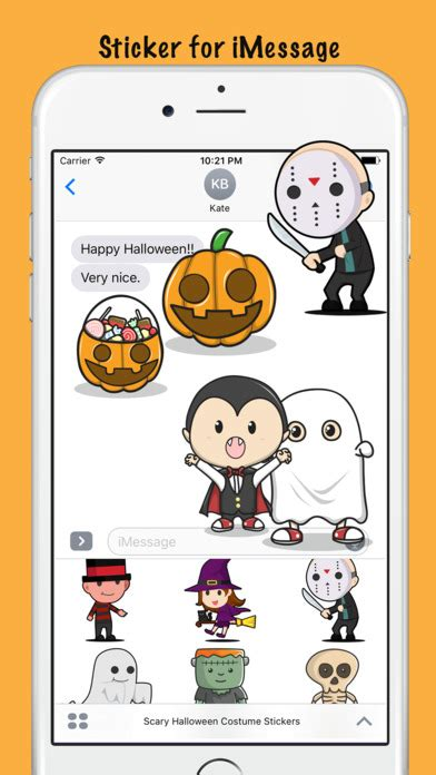 Spooky Ipod Costumes by Scary Costume Stickers By Reun Leow