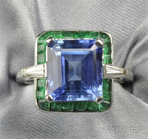 how s this for colorblocking sapphire emerald and