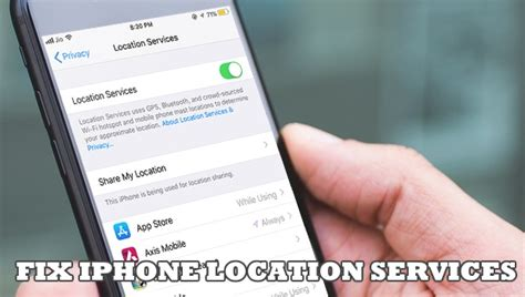 fix location services  iphone