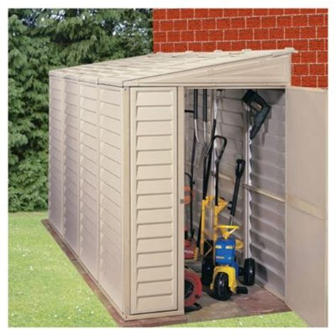 Foundation For Plastic Shed by Buy Store More Sidemate Lean To Plastic Shed With