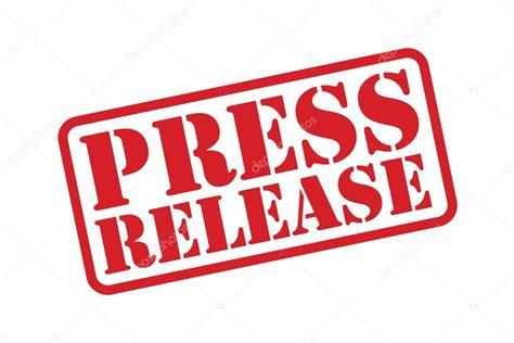 rubber st press press release rubber st vector a white