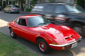 Opel Automobile Parked Cars 1970 Opel Gt