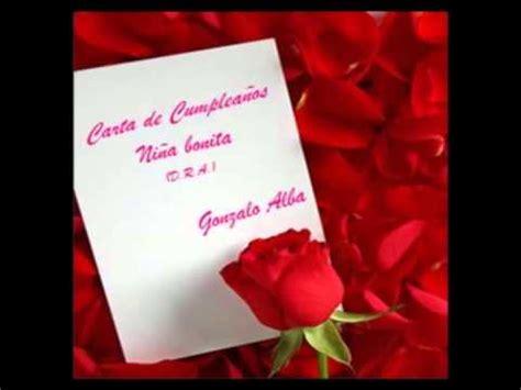 imagenes hermosas de cumpleaños para mujeres carta de cumplea 209 os para una mujer poema youtube