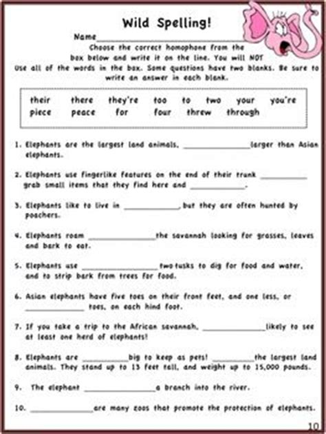 4th Grade Ela Worksheets by Going Fourth Grade Language Arts Common