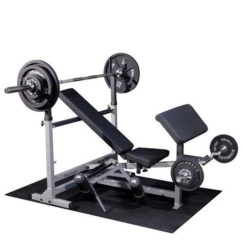 weights and bench package body solid powercenter bench package with weight sets