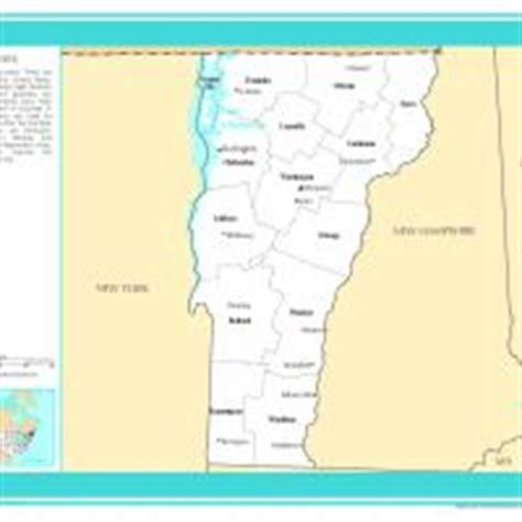 us map with selected cities us map vermont counties with selected cities and towns