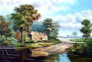 Landscape Pictures On Canvas Landscape Paintings Painting On Canvas Landscape