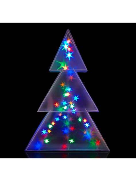 john lewis christmas lights indoors lewis indoor holographic tree light h75cm at lewis partners