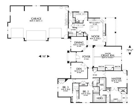 Mascord Floor Plans by Floor Plan Of Mascord Plan 2377 The Pineville L