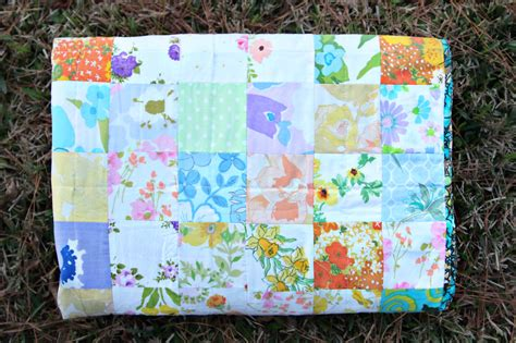vintage sheet quilt taylormade