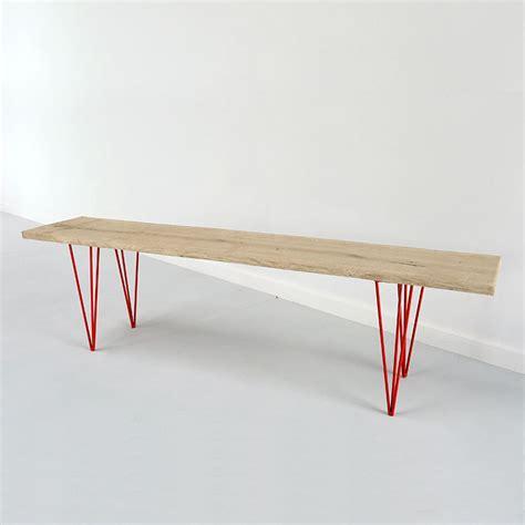 Pied De Banc by T Starr Fabricant De Pieds De Table Et Plateau En Bois