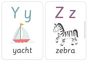 alphabet flash card template printable printable alphabet flash cards babysitting academy