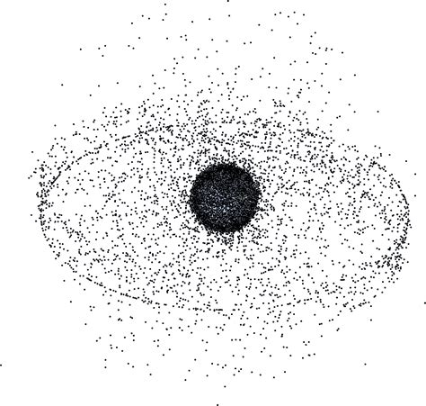 space junk map space debris image of the day
