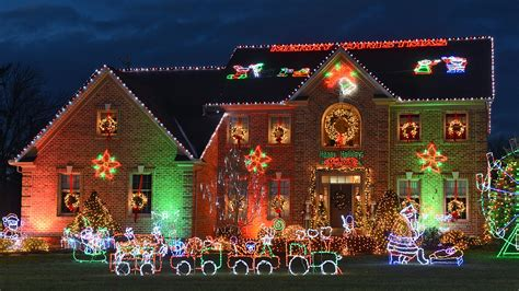 Bill White S Christmas Lights Tour The Best And Brightest Christma Lights