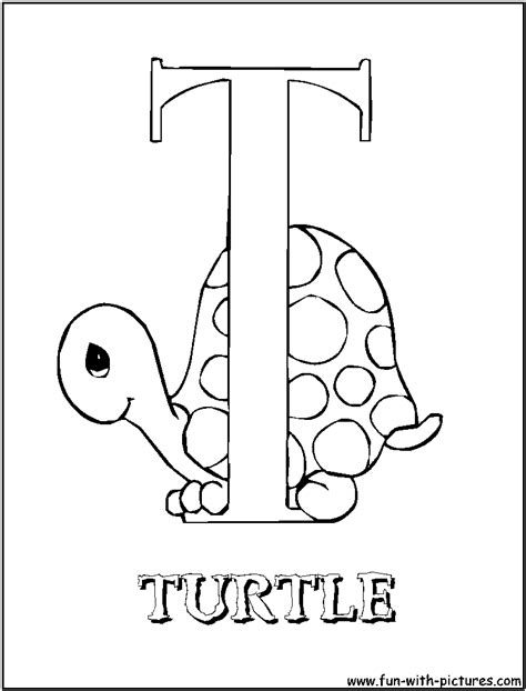 Preciousmoments T Coloring Page T Coloring Pages