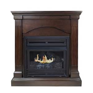 pleasant hearth convertible vent free dual fuel fireplace