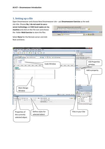 tutorial dreamweaver cs3 dreamweaver cs3 tutorial by colinasmith teaching