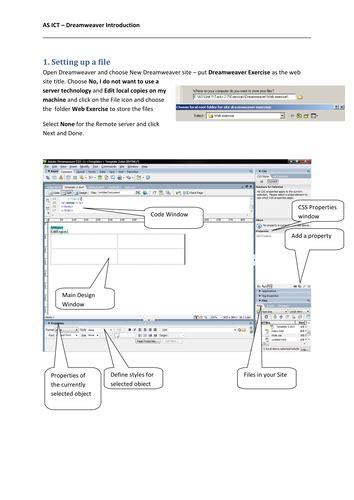 tutorial for dreamweaver cs3 dreamweaver cs3 tutorial by colinasmith teaching