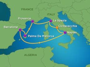 7 night western mediterranean cruise rcl symphony of the