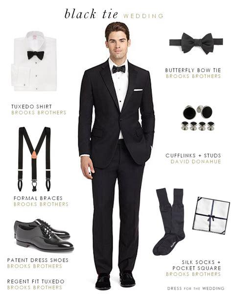 black tie wedding dress code ireland what will your guests wear