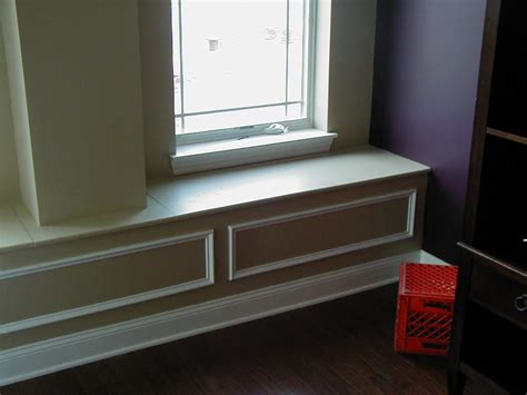Window Seat Storage Bench Built Bench Seat By Window With Storage Yelp