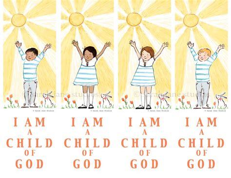 wwjd images i am a child of god bookmarks studios