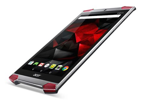acer predator 8 gaming tablet with atom x7 z8700 and acer predator 8 gaming tablet offiziell auf der ifa