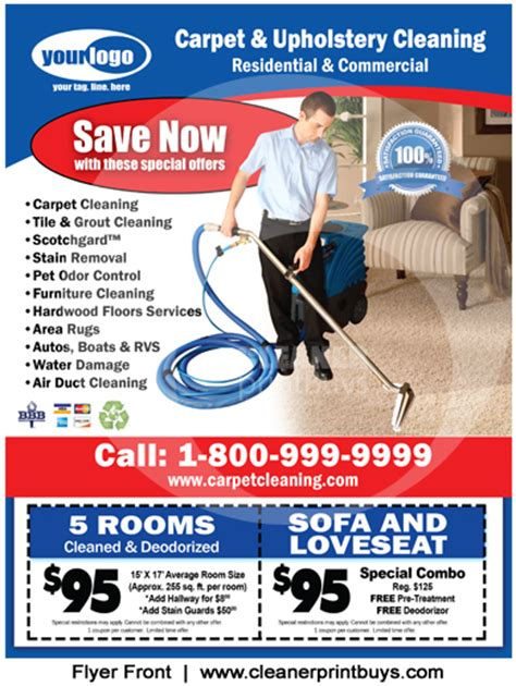 cleaning advertisement template carpet cleaning eddm 8 5 x 11 c0006
